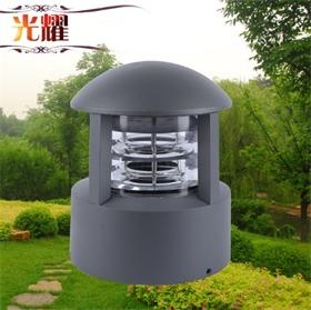 光耀廠家批發戶外防水景觀燈 室外照明太陽能草坪燈庭院燈柱頭燈