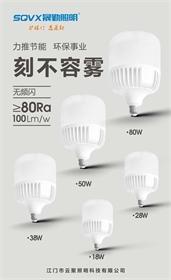 云聚照明-LED球泡灯 刻不容雾