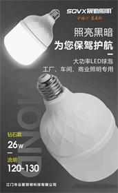 云聚照明-LED球泡灯 钻石款