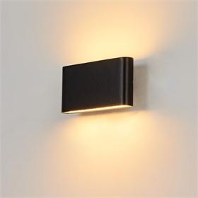 LED户外上下发光薄款充电宝壁灯欧式简约走廊过道灯庭院壁灯