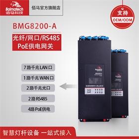 BMG8200a供电盒 rs485 千兆网盒 智能控制器网关