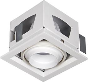 斗胆灯LED筒灯家用商用单头射灯嵌入式COB格栅灯