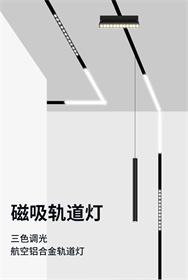 轨道磁吸灯系列产品-泛光灯/格栅灯/轨道灯/折叠灯 两年质保