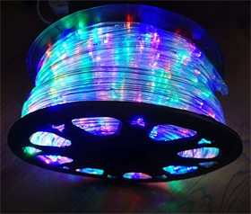 厂家供应LED 彩虹管 灯带 户外亮化工程装饰 圣诞庭院装饰