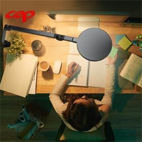 设计师绘画电脑工作夹子灯护眼书桌台灯学生学习专用长臂折叠夹式