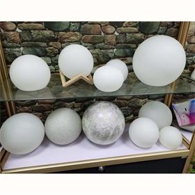 厂家生产滚塑圆球外壳灯罩LED灯饰外壳庭院广场户外七彩景观灯