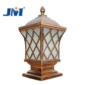 歐式古銅柱頭燈