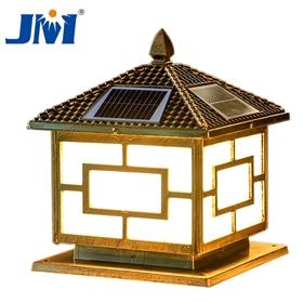 歐式太陽能柱頭燈