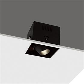 方形LED格栅射灯  智能家居格栅射灯