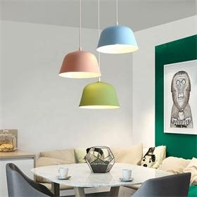 固定现代金属圆形简约工业风金属吊灯设计师吊灯