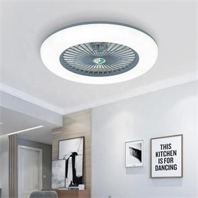 ABS叶片传统装饰照明可调光遥控器吊扇带LED风扇灯