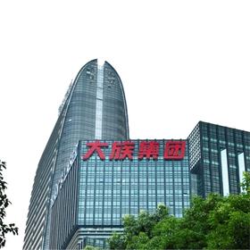 深圳大族激光楼顶发光字工程