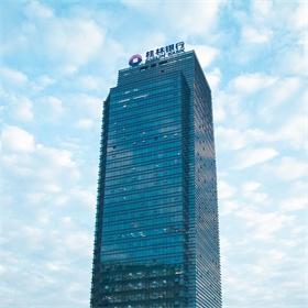 广西桂林银行CBD写字楼发光字工程案例