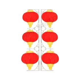 太阳能led灯笼三连串灯笼景观灯道景观路灯杆户外广告牌吸塑灯