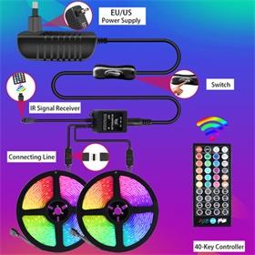 RGB LED灯带音乐套装5050 东达丰照明