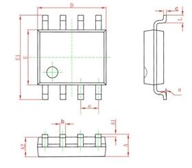 升压型高 PF 低 THD 恒流控制芯片