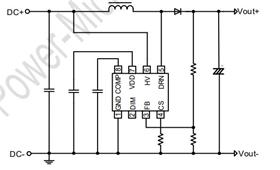 DC/DC 升压型可调光控制芯片