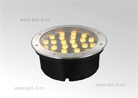 圓形LED大功率地埋燈散熱好防水好