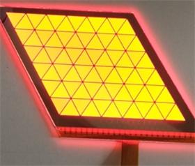 集萃OLED深红光汽车尾灯