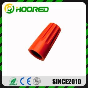 尼龍壓線帽SP3橙色 500只每包 代替膠布纏線蓋 彈簧束線