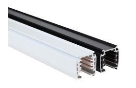 科匯 四線三回路圓形導軌條 歐規扁銅芯4芯軌道條,軌道燈條