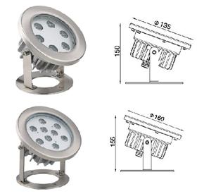 結構防水水底燈-2