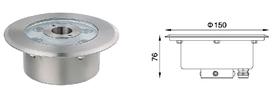 結構防水噴泉燈