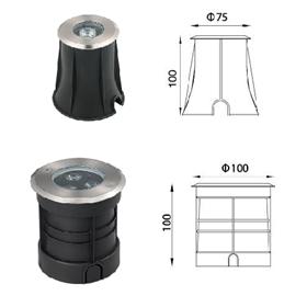 結構防水埋地燈-2