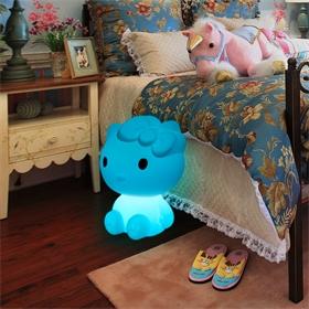 东莞市滚塑玩具小夜灯来图来样加工创意七彩发光LED玩具滚塑灯
