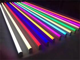彩色T5日光灯1