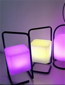 LED滚塑灯 可调光小夜灯 定制创意发光灯