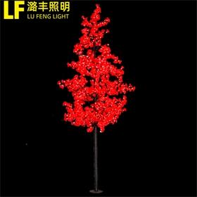 定制园林景观LED灯发光树仿真花灯户外彩色灯光节造型户外