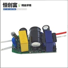 低PF过EMC堵头电源30-85V 240MA球泡灯电源