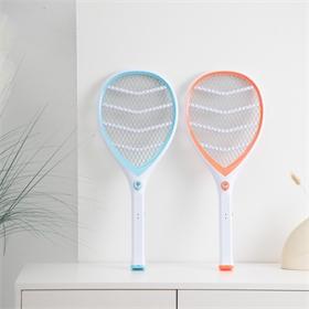 飞霸高品质充电式灭蚊拍电蚊拍带LED灯