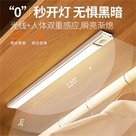 欧 朗  LED磁吸充电感应灯橱柜灯小夜灯