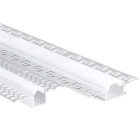 嵌入线型灯嵌入式无边框铝槽灯槽型材客厅走廊酒店LED线条灯嵌