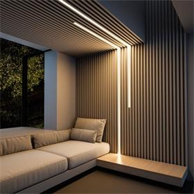 商睿嵌入线型灯嵌入式无边框铝槽灯槽型材LED线条