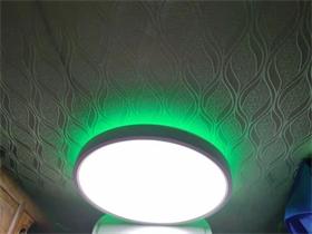 超薄卧室餐厅风扇吸顶灯