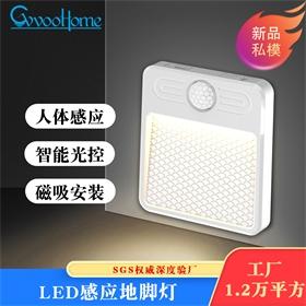 USB人体感应橱柜灯 led小夜灯 红外人体感应灯 衣柜灯