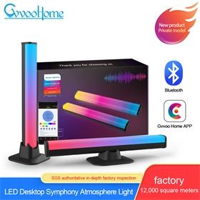 GVVOOHOME 桌面氛围灯 RGB焕彩声控音乐氛围灯